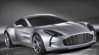 Aston Martin One - mobil termahal ke-4