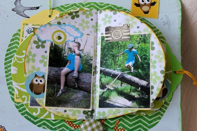 альбом, домик, дерево