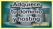 Adquiere tu dominio y hosting
