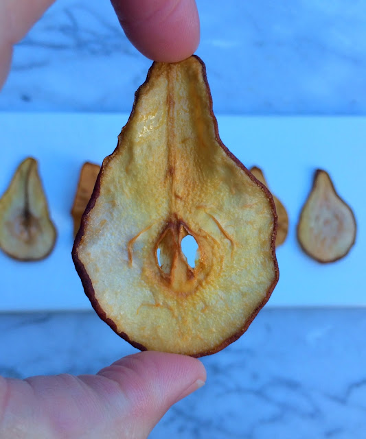 Pear Chip Recipe - Great Holiday Appetizer   www.jacolynmurphy.com