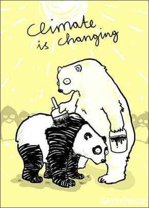 Caricatura: Cambio Climático