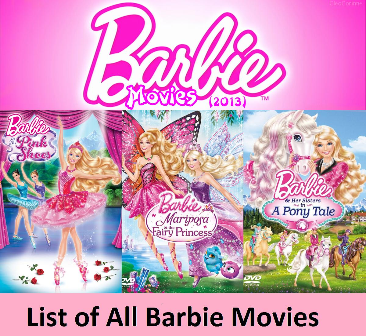 List of All Barbie Movies Online-Free Barbie Movies