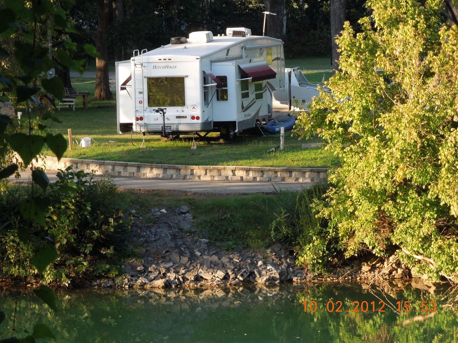 Campsites in hardy arkansas