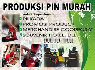 Bikin PIN Murah