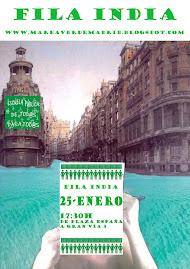 """Marea Verde en """"Fila India"""" 25 Enero 2012"""