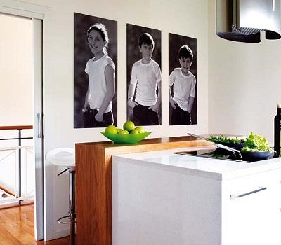 Siempre guapa con norma cano como decorar con cuadros - Cuadros con fotos familiares ...