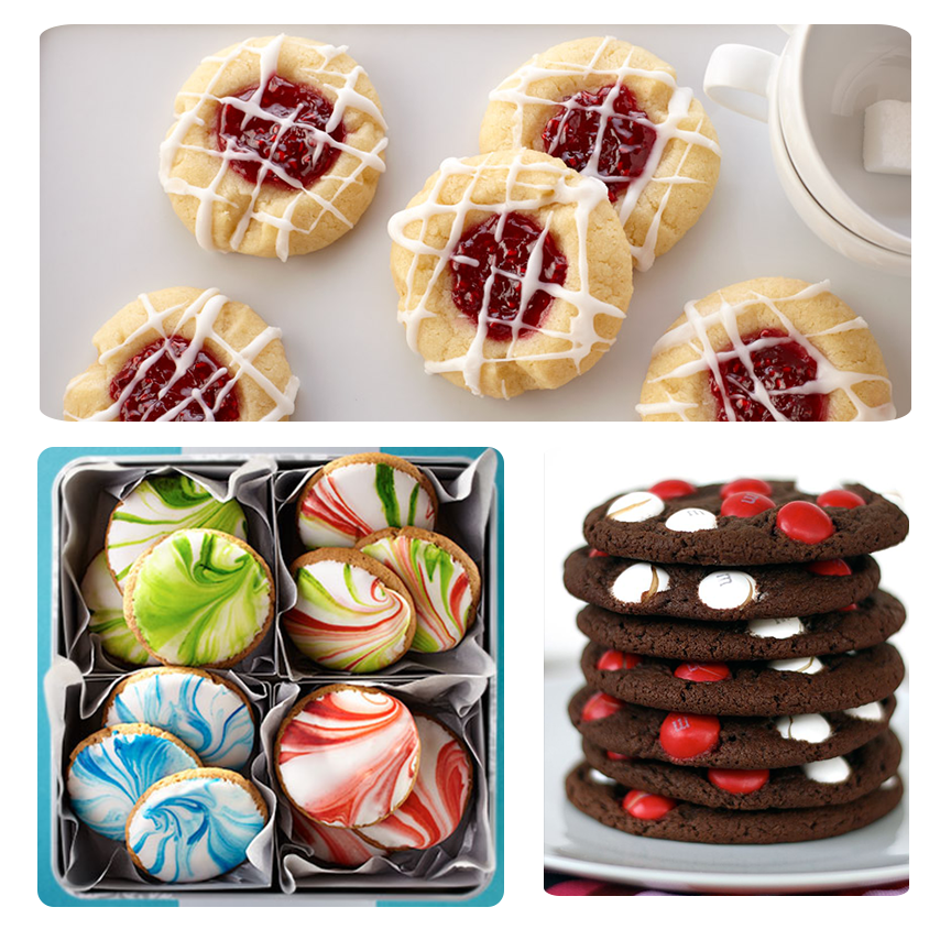 Yummy christmas cookie recipes cookie exchange recipes food gift ideas