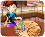 Làm pizza Mexico, game ban gai