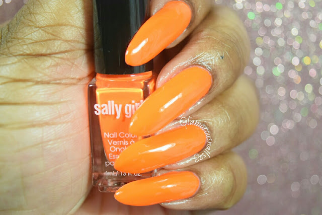 "Sally Girl ""Crazy"" Swatch"