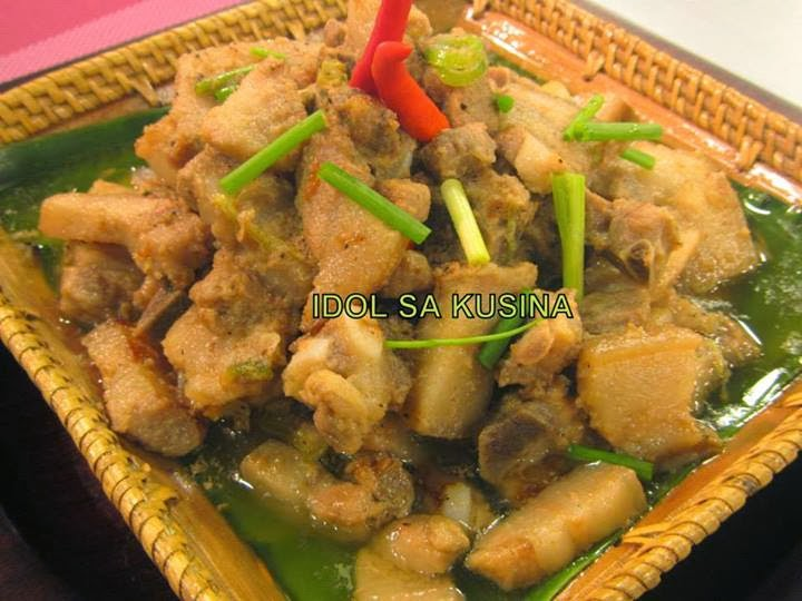 how to cook bicol express with alamang