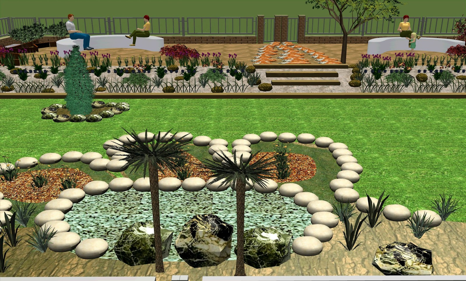 Arte y jardiner a contratar a un dise ador de jardines for Budas grandes para jardin