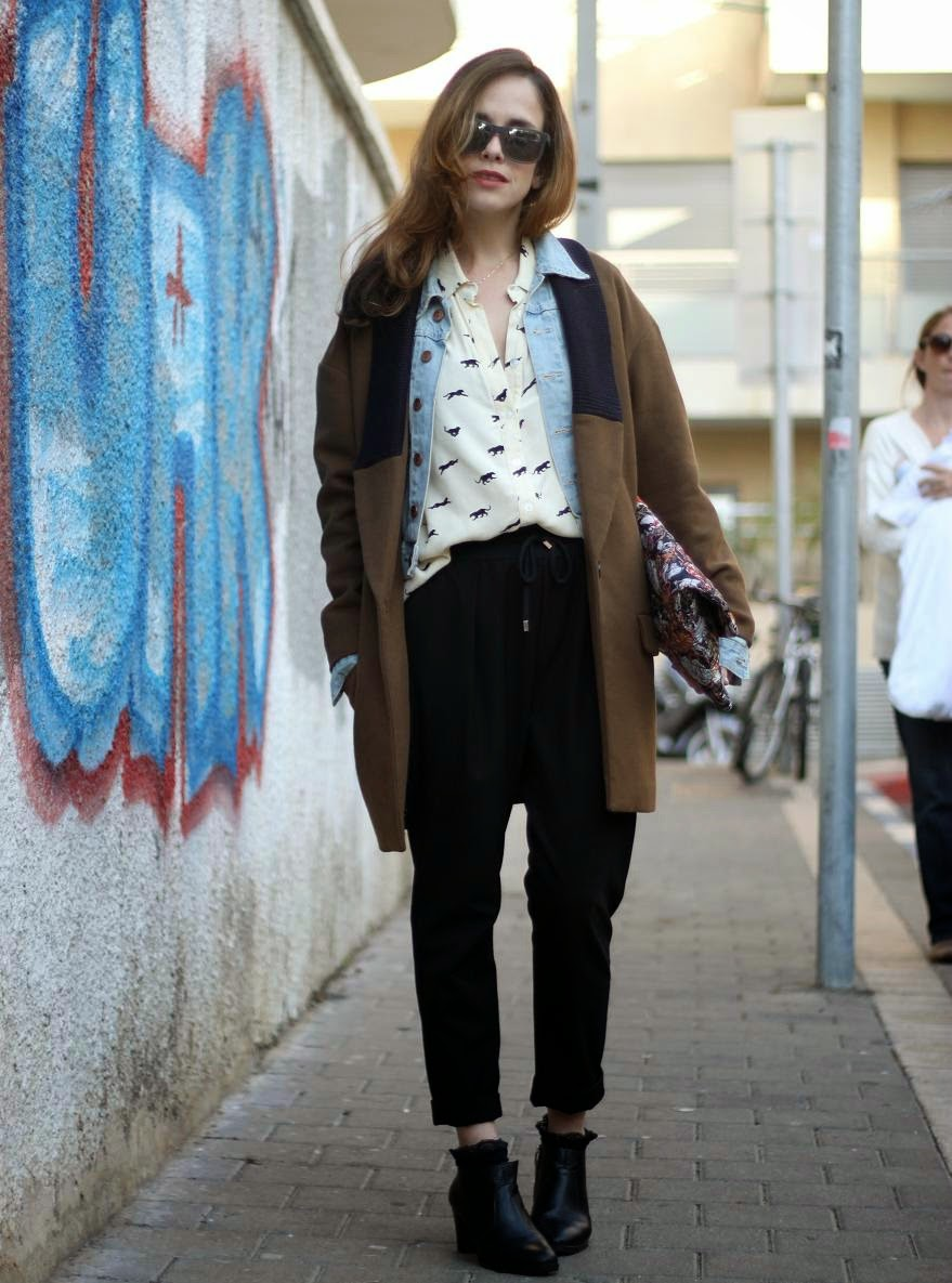 street-style, oversized coat, wear, iconic, fashionable, fashion-blogger, fashionblog, &otherstories, אופנה, בלוג-אופנה ,inspiration