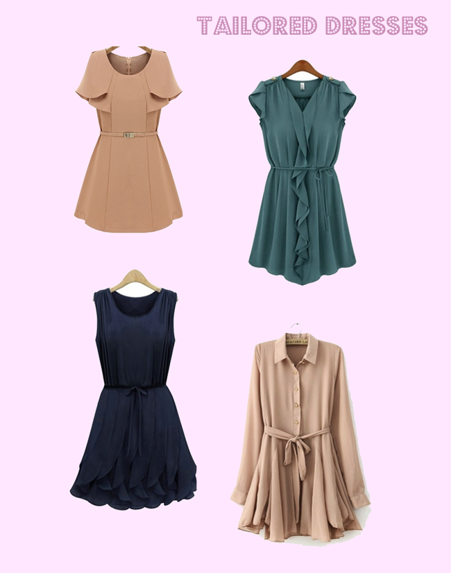 persunmall fashion blog personal style blog tailored dresses