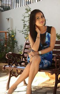 Telugu Actress Anu Smruthi Latest Pictures in Short Dress at Heroine Movie Press Meet  23