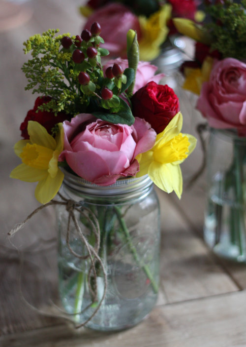 17 Apart Diy Weddings How To Make Hanging Mason Jar Flower Vases With Frog Lids