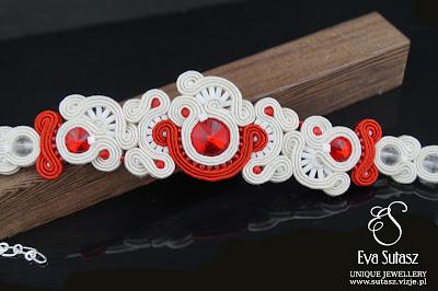"30/50 - Komplet biżuterii sutasz ""Red Love"""
