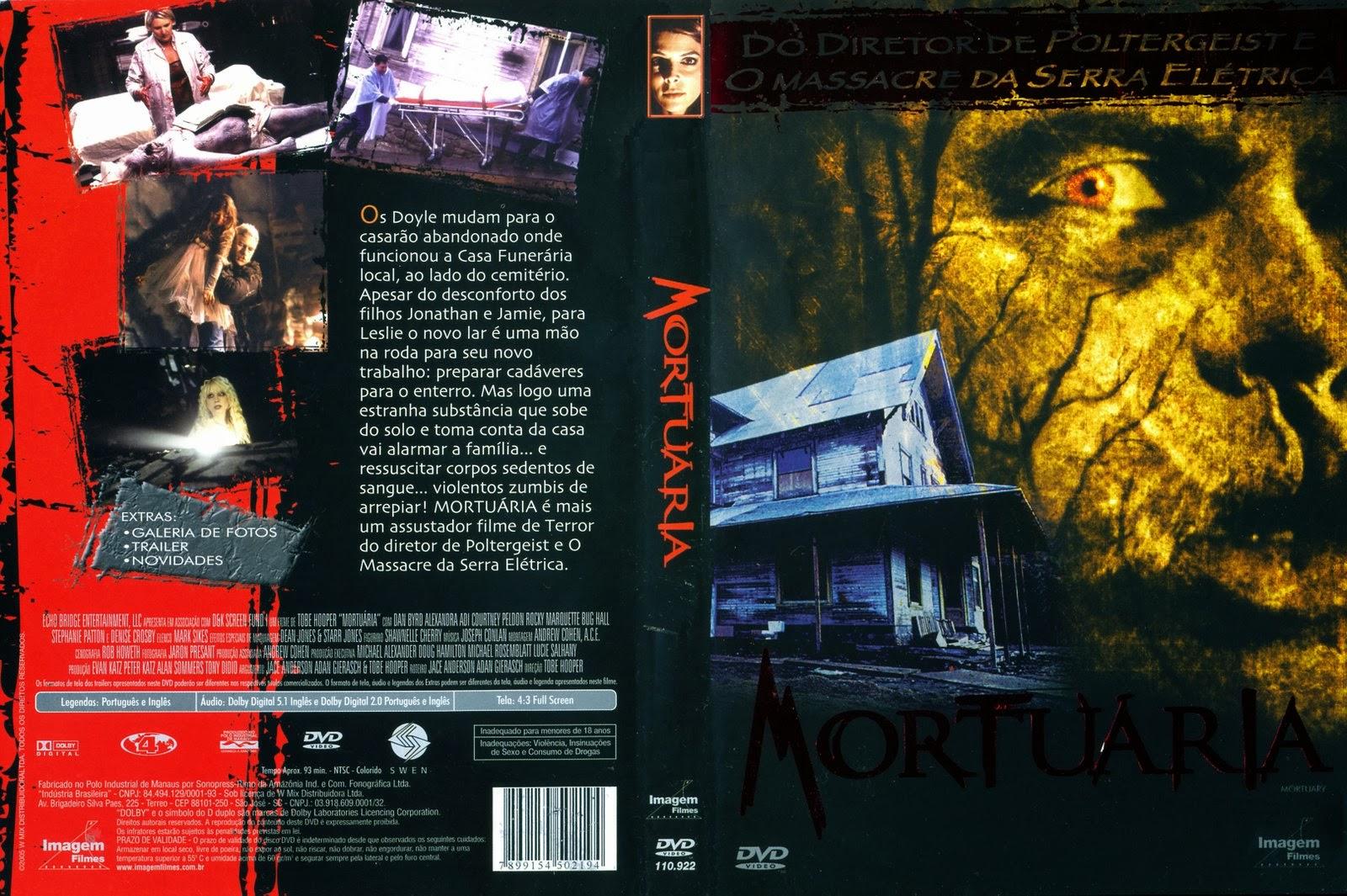 Mortuária DVD Capa