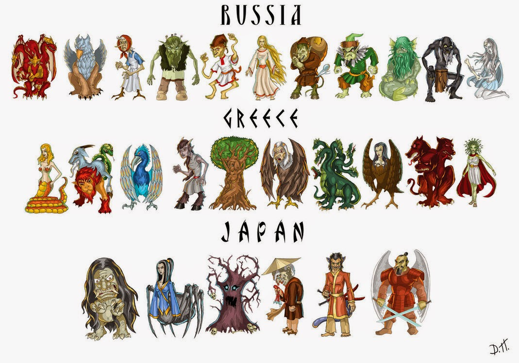 kids ultimate zone mythical creatures list