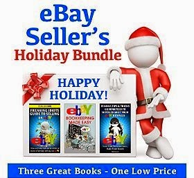 eBay Seller's Holiday Bundle: Freaking Idiots Guide to Selling on eBay, eBay Ninja Tips and Tricks, and eBay Bookkeeping Made Easy