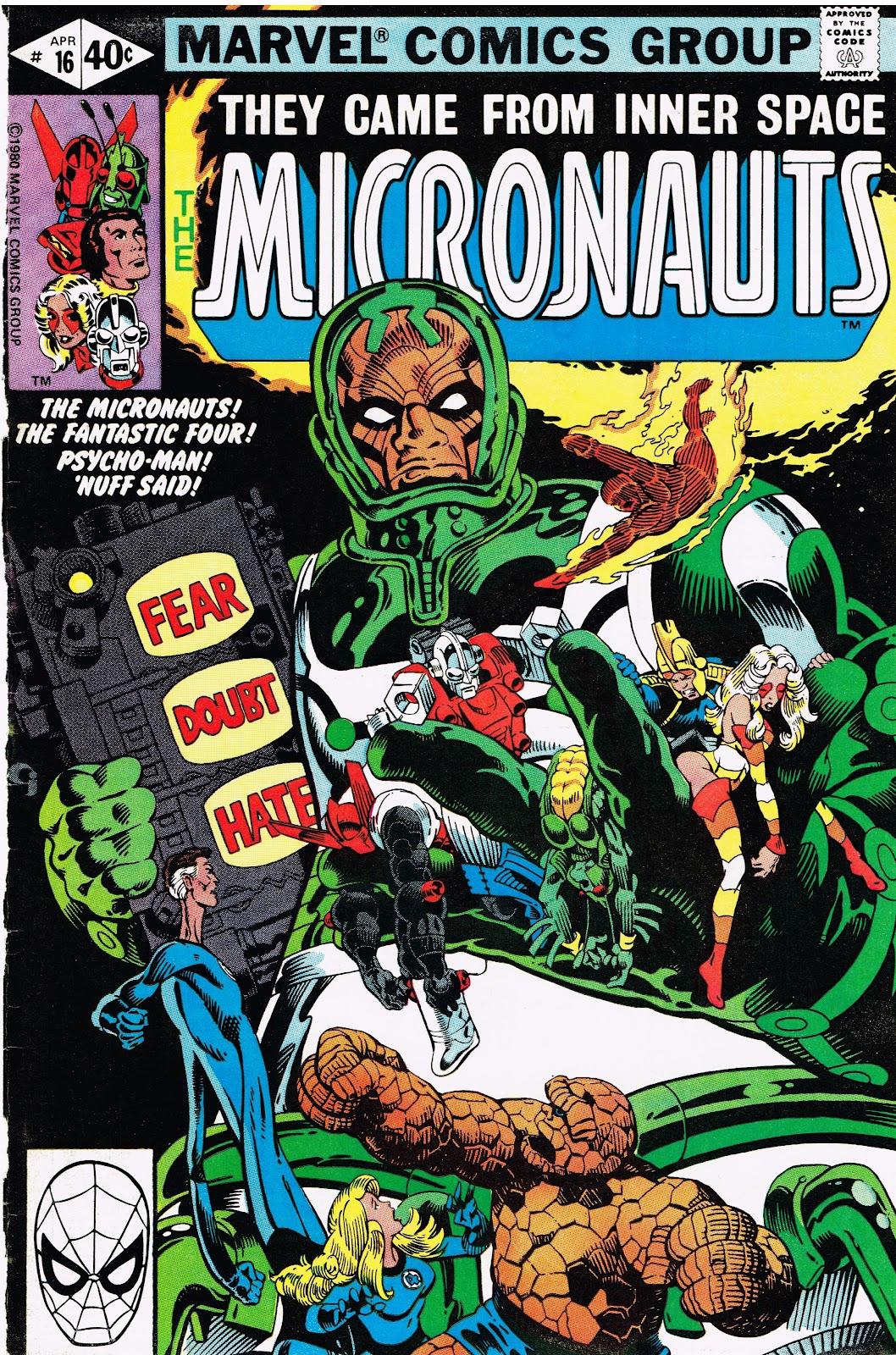 Cap'n's Comics: A Year of Michael Golden Micronauts