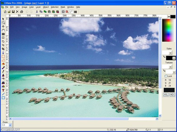 Aplikasi Edit Foto LView Pro