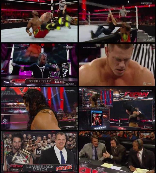 WWE Monday Night Raw 12th Oct 2015 HDTV 480p
