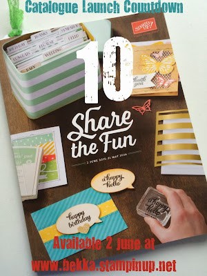 Check out the new Stampin' Up! UK Catalogue at www.bekka.stampinup.net from 2 June 2015