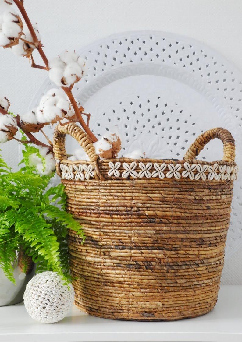 Kosz dekoracyjny SHELLS ROUND