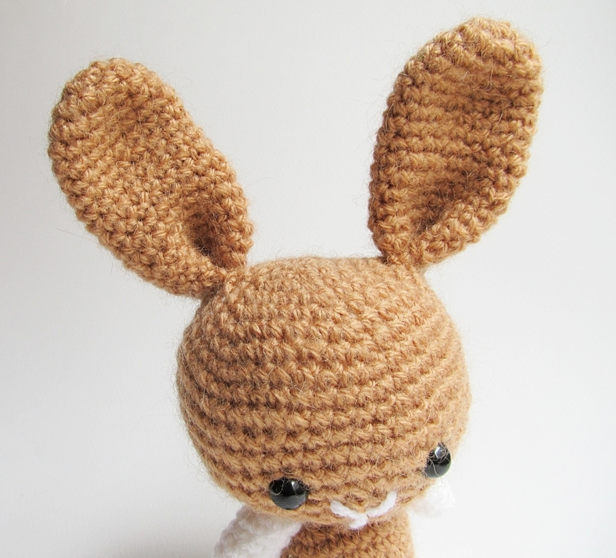 Amigurumi Little Teddy Bear : {Amigurumi Bunny and Teddy Bear} - Little Things Blogged