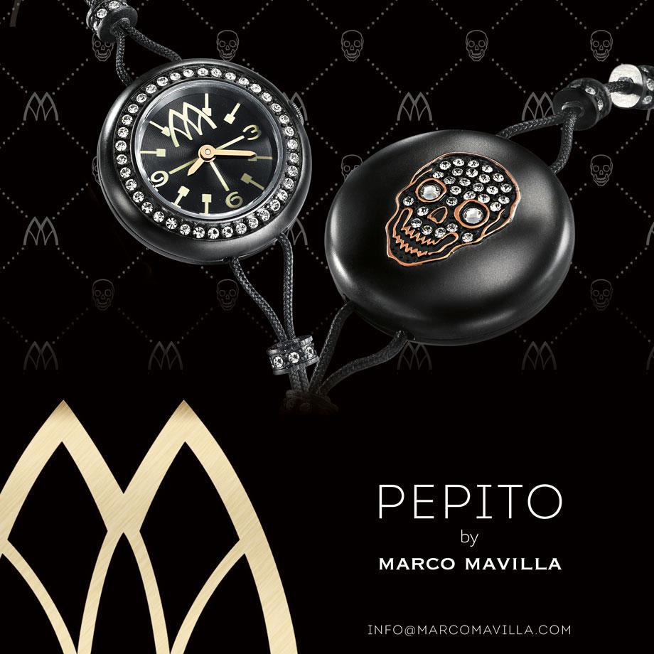 Relojes PEPITO de Marco Mavilla * AURORA VEGA