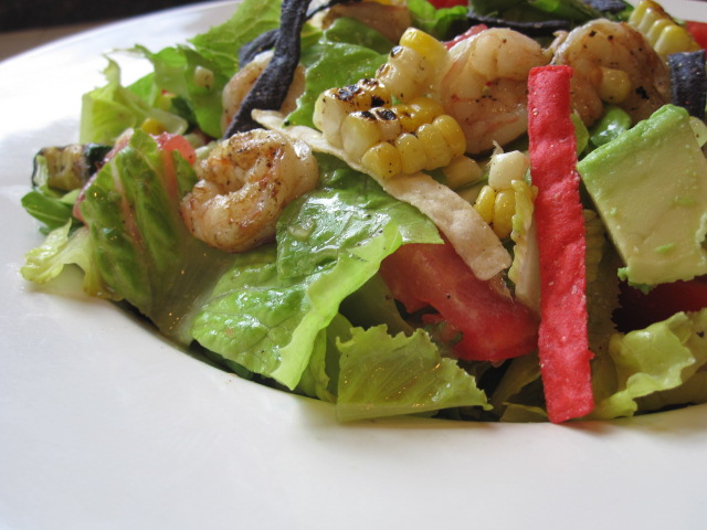 Stirring the Pot: California Chopped Salad with Shrimp