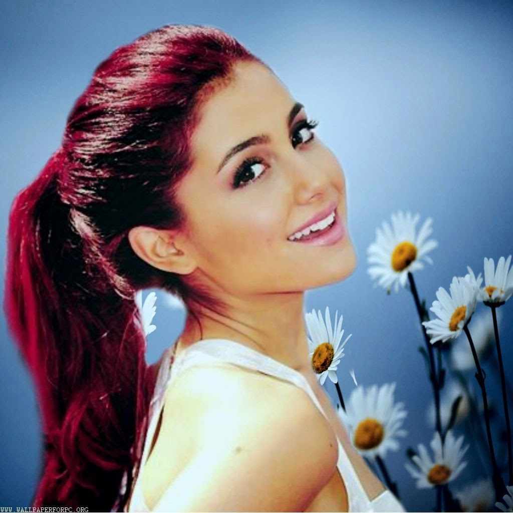 AriaNa GraNde REd HaiR PhoTos Free Download Wallpaper For PC