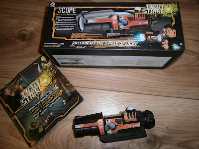 light strike scope add on extras to the light strike gun range