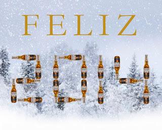targeta de felicitación del nuevo año 2014