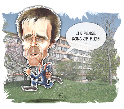 Caricature de David Pujadas