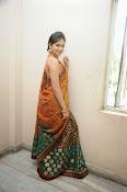 Madhumitha sizzling pics in saree-thumbnail-13