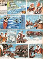 bd benzi desenate romanesti revista cutezatorii desene aurel lecca val tebeica pompiliu dumitrescu comics romania roman groenlanda