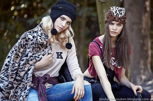 Tapados Moda juvenil urbana otoño invierno 2015 Union Good.