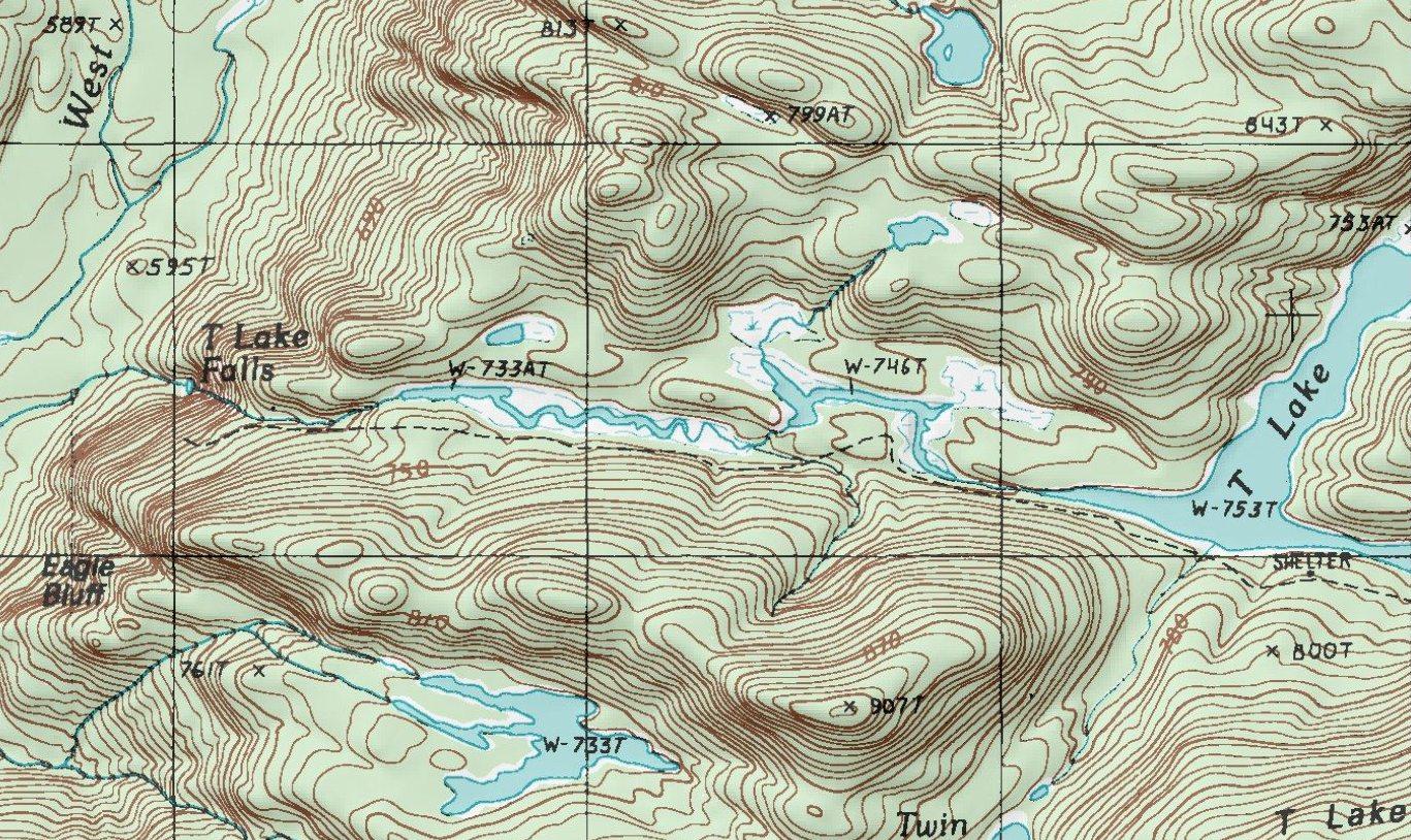 Hiking New York Adirondacks - Where to get topo maps for hiking