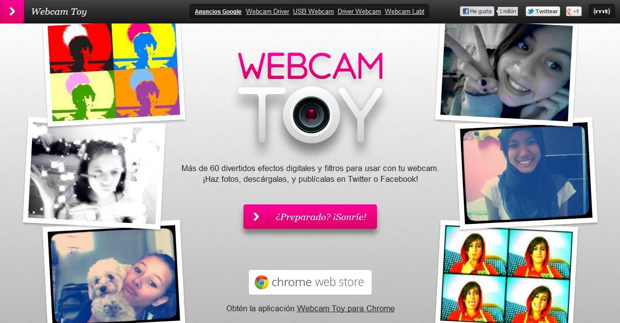 Tomar fotos con camara web toy 39