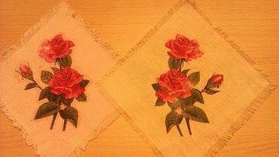 Декупаж на ткани Салфетки Материалы Ткань хлопок Салфетки трехслойные Клей ПВА Лак акриловый