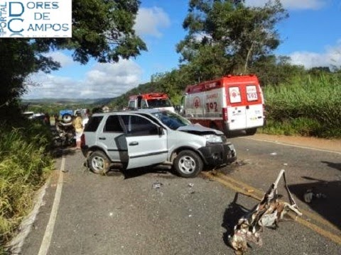 Acidente na rodovia AMG 809