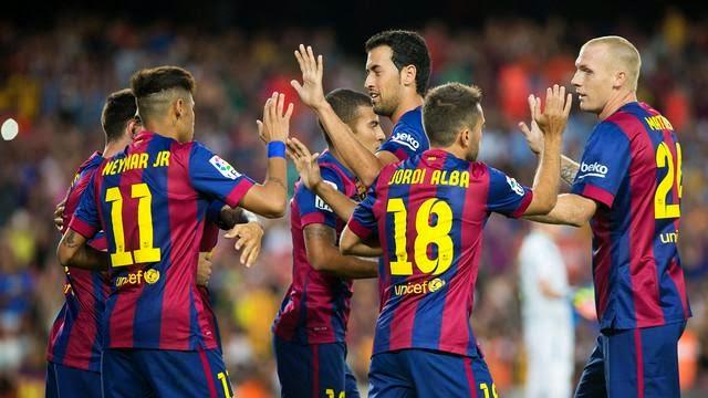 برشلونة يدعم استقلال كتالونيا