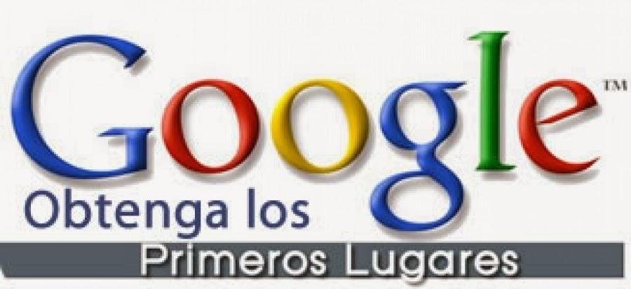 Google obtenga los primeros lugares