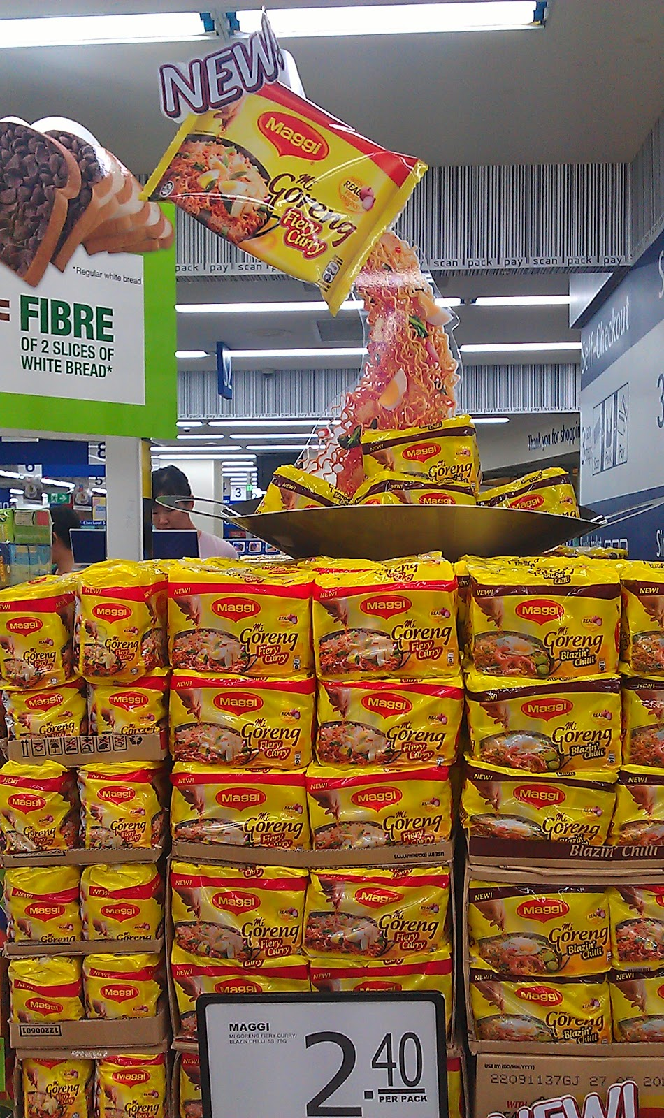 New Maggi Mee Goreng Block Stack The Selling Points