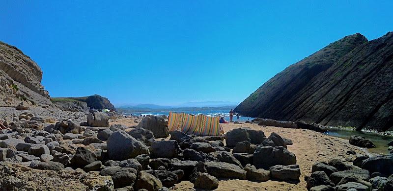 Playa del Madero en Liencres