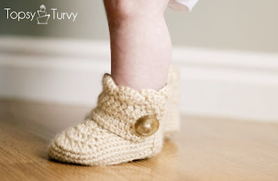 free crochet pattern baby boots