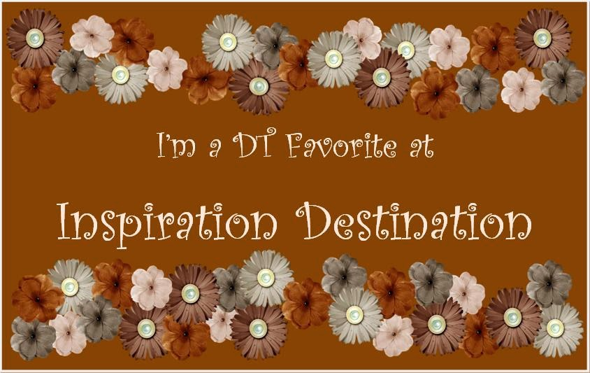 A BIG thanks to the Inspiration Destination DT!