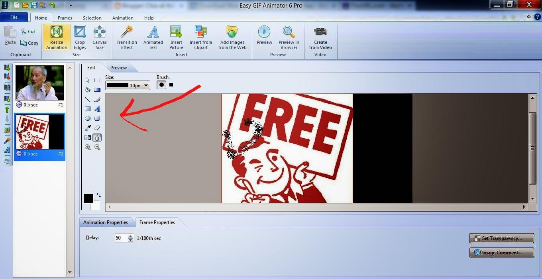 phần mềm Easy GIF Animator