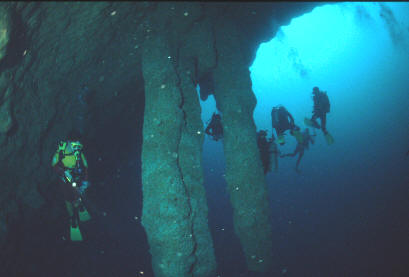 That would Great blue hole belize diving final